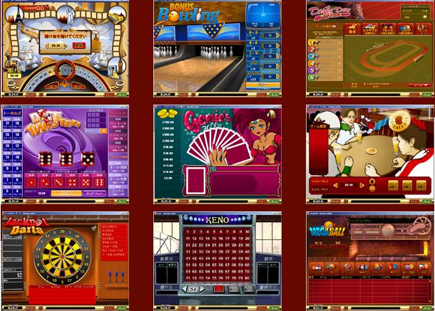 ジパングゲーム種類