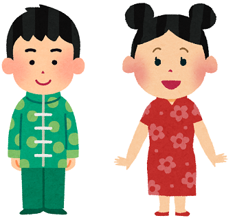 中国人の画像
