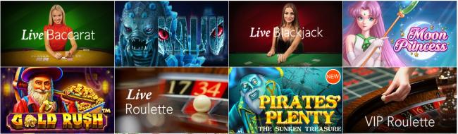 カジノエックスゲーム画像