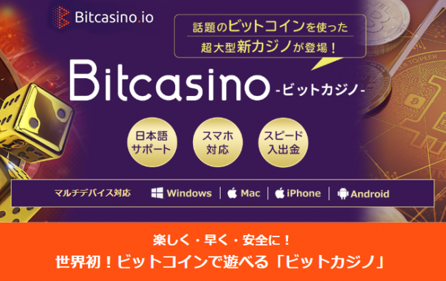 ビットカジノTOP画像