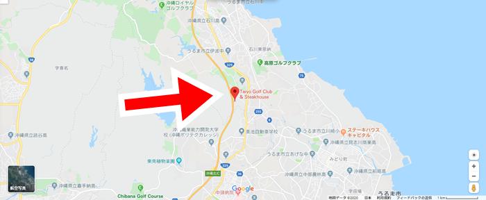 Taiyo Golf Club地図画像